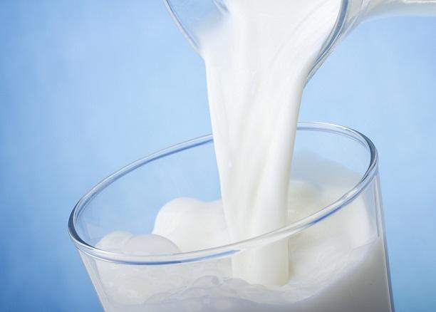 Milch und Eiweiß