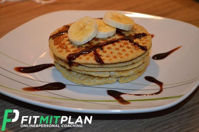 Bananen Pancake mit Ei ohne Mehl - Zwischenmahlzeit